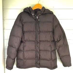 WINDRIVER   Goose Down Filled Nylon Puffer Jacket